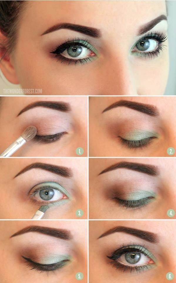 Enticing Applying Eye Makeup