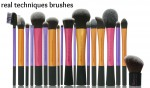 Colorful Best Makeup Brushes