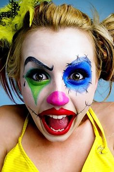Hilarious Clown Make Up