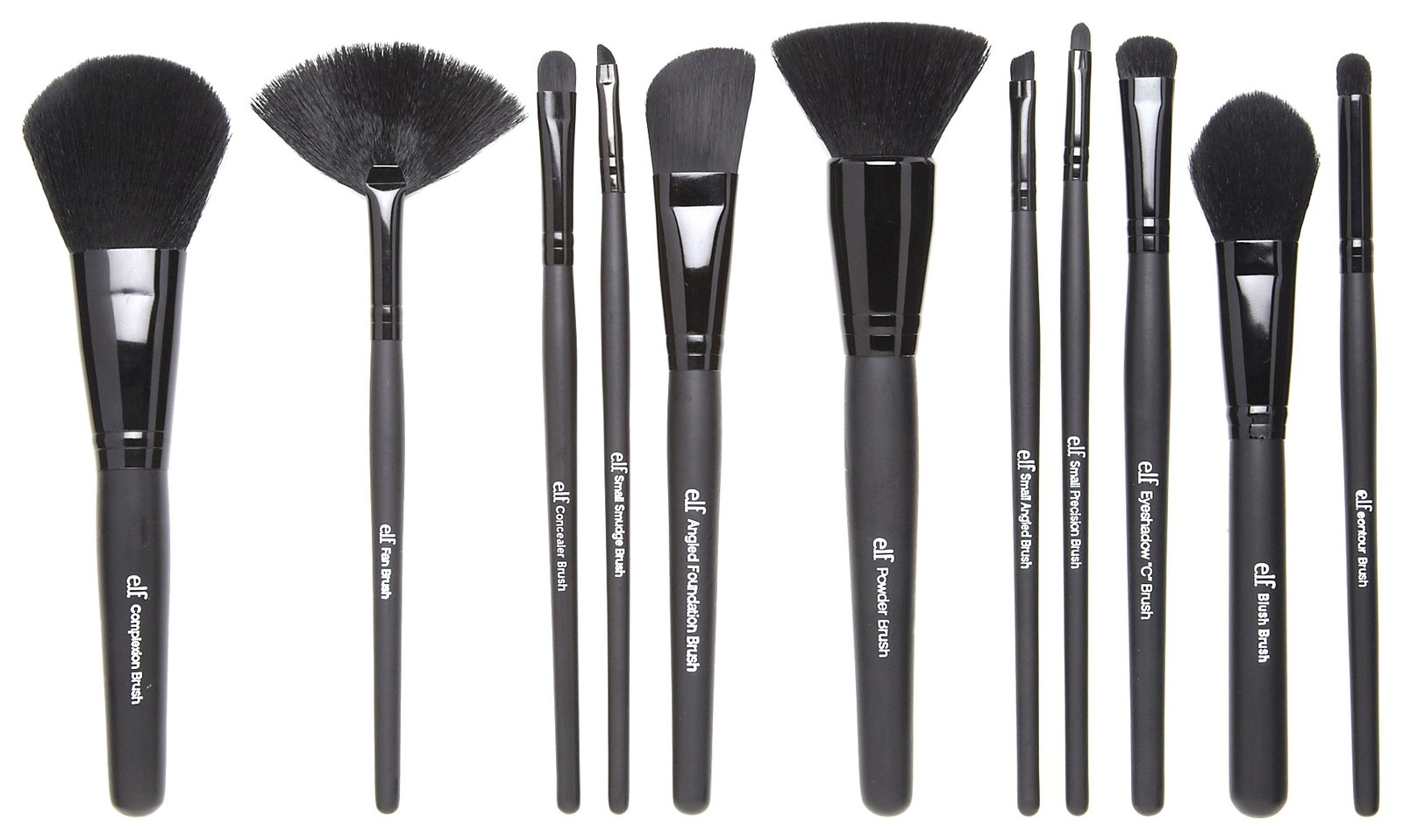 Branded Elf Makeup Brushes