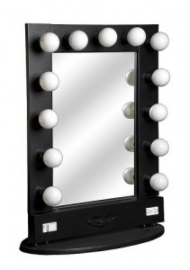 Convenient Lighted Make Up Mirror