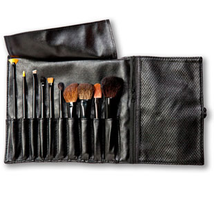 Lovely Make Up Brush Roll