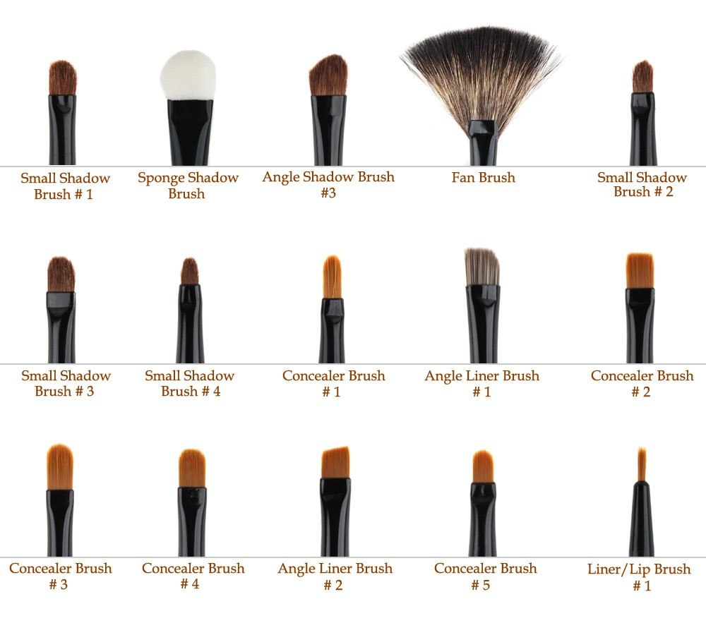 Exquisite Make Up Brushes Set