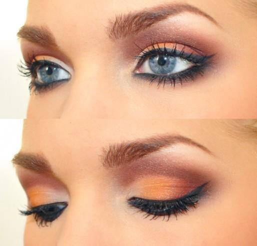Stunning Make Up For Blue Eyes