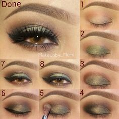 Delightful Make Up For Hazel Eyes