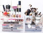 Delightful Make Up Storage