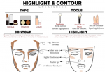 Highlight & Contour Make Up Tips Foundation