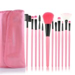 Girly Makeup Brushes Set