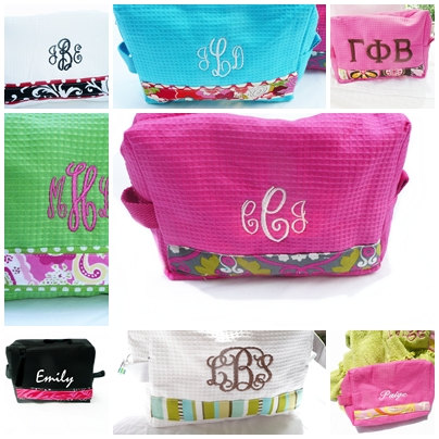 Check these Personalized Makeup Bags