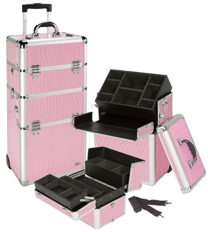 Pink Professional Make Up Cases