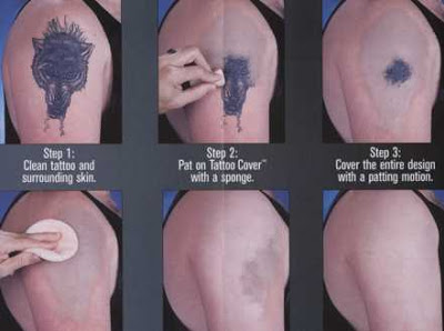 Unbelieveable Tattoo Cover Up Make Up