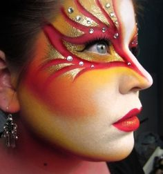 Delightful Theatrical Make Up