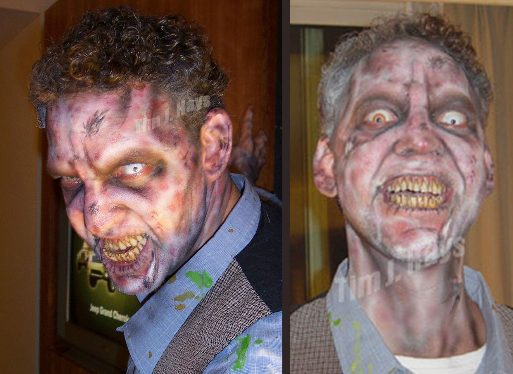 Scary Zombie Make Up