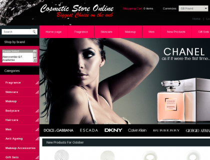 Great Cosmetic Web