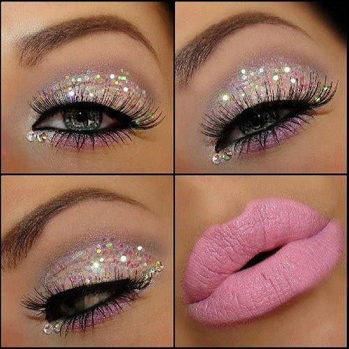 Glittering Makeup Ideas