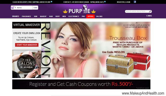 Purpme Online Makeup
